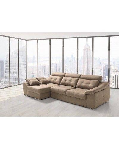Sofá chaise longue moderno diseño 1303-04