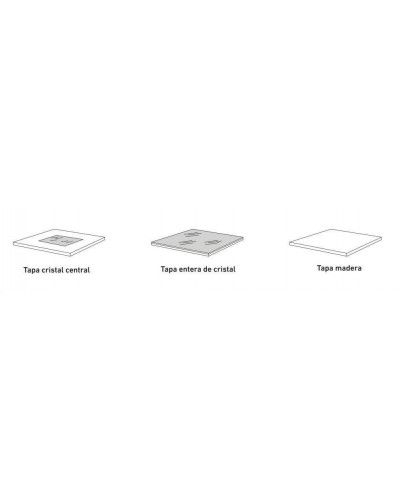 Mesa de centro moderna elevable lacado diseño 194-166