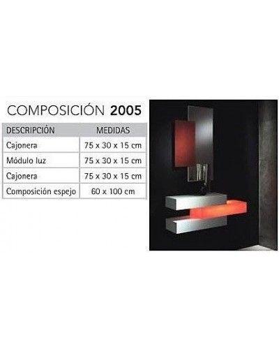 Recibidor moderno masintex 50-2005