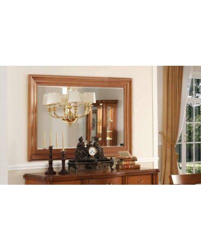 Aparador clásico cerezo con espejo 194-906-908