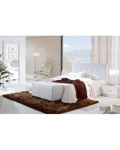 Dormitorio moderno tapizado  956-14