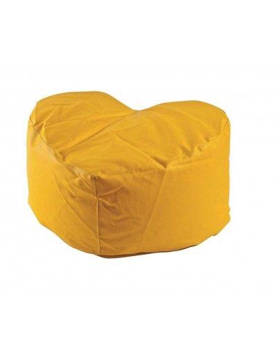 Puff tapizado corazón amoldable 956-44