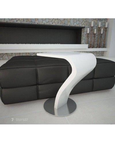 Mesa rincón auxiliar moderna lacado brillo 962-Siete