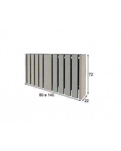 Cubreradiador moderno lacado alta calidad 397-R01
