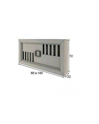 Cubreradiador moderno lacado alta calidad 397-R02