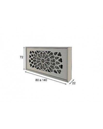 Cubreradiador moderno lacado alta calidad 397-R09
