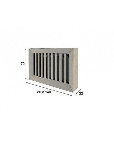 Cubreradiador moderno lacado alta calidad 397-R10