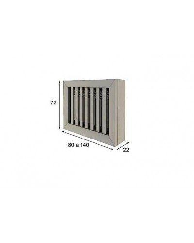 Cubreradiador moderno lacado alta calidad 397-AZ16