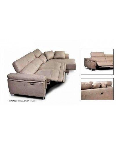 Sofá relax motor chaise longue moderno diseño 1303-30
