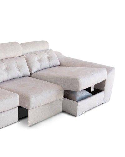 Sofá chaise longue moderno diseño 1303-36