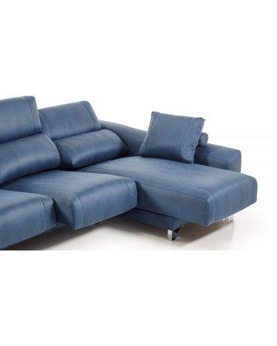 Sofá chaise longue moderno diseño 1303-37
