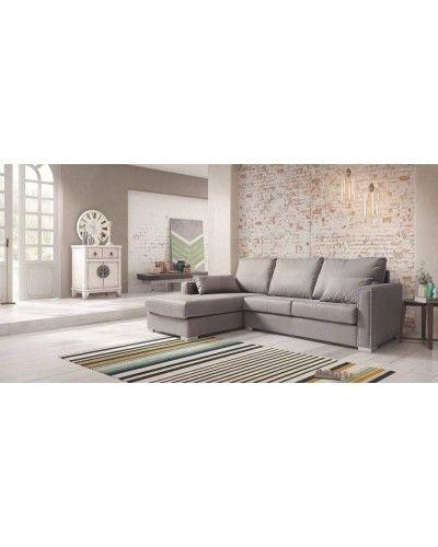 Sofá chaise longue clasico 956-03