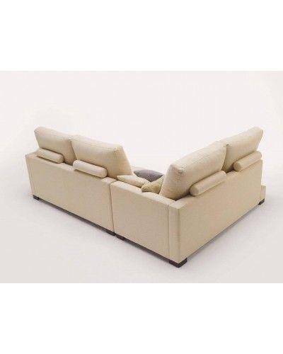 Sofá chaise longue moderno 956-07