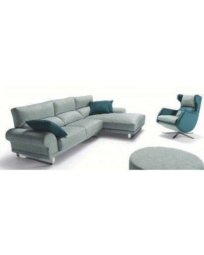 Sofa cheslongue moderno diseño 1140-35