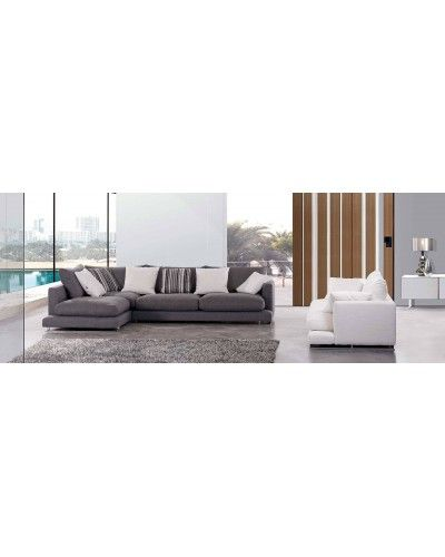 Sofa moderno cheslongue diseño 1140-55
