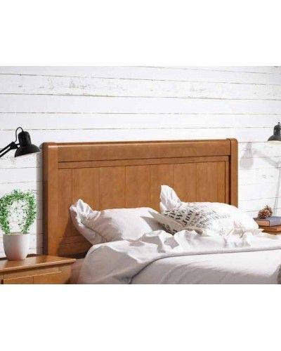 Dormitorio matrimonio colonial rustico madera lacado 79-OC288