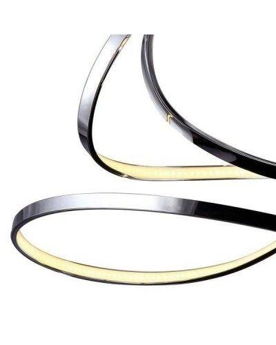 Lámpara LED de techo para salón metálica moderna 1099-62