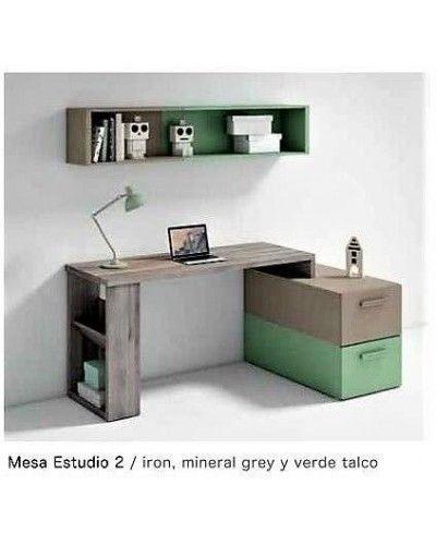 Escritorio mesa estudio moderna diseño 224-02