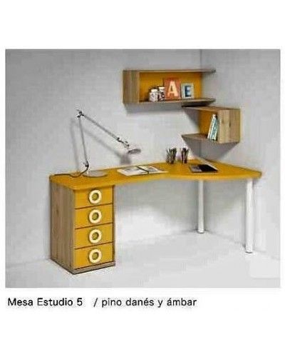 Escritorio mesa estudio moderna diseño 224-05