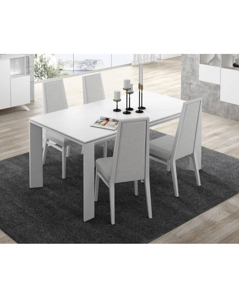 Mesas de salon modernas mesa comedor moderna dise o for Mesas comedor extensibles modernas baratas