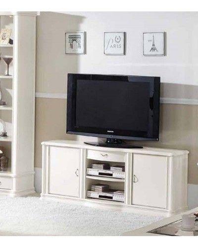Mueble TV clásico beige 194-901