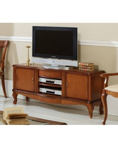 Mueble TV clásico cerezo 194-903