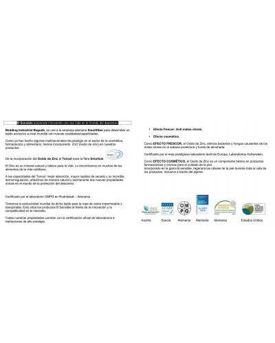 Funda almohada SMARTCEL TENCEL impermeable transpirable 1213-27 beige
