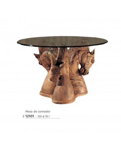 Mesa comedor mexicano rustico colonial 195-12101