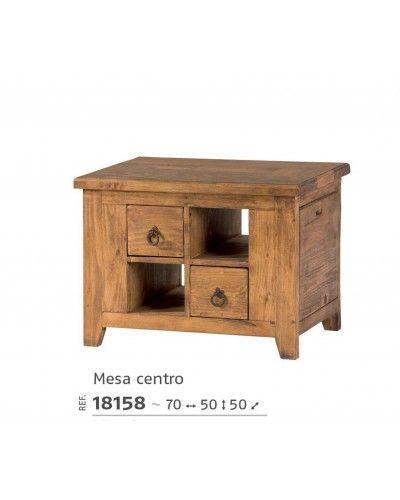 Mesa centro mexicano rustico colonial 195-18158