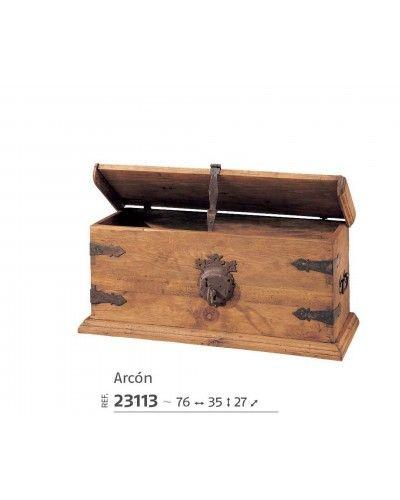 Arcon baul mesa centro mexicano rustico 195-23113