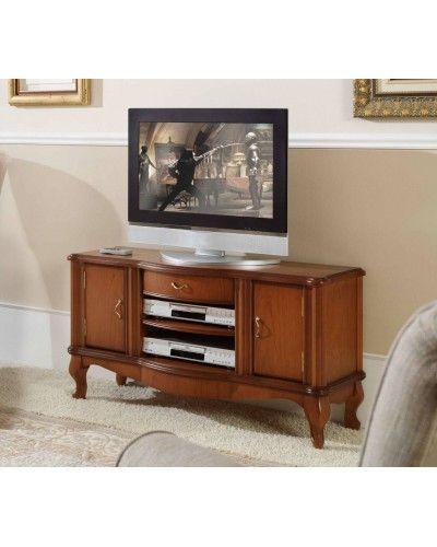 Mueble TV clásico cerezo 194-904