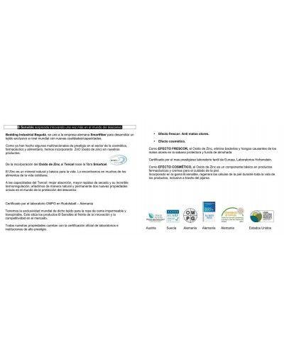 Sabana bajera SMARTCEL TENCEL impermeable transpirable 1213-31 Azulon