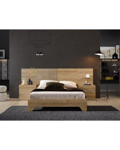 Dormitorio matrimonio moderno beladur 270-BH03