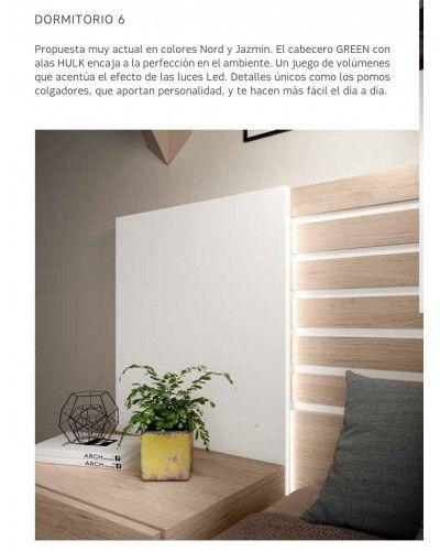 Dormitorio matrimonio moderno beladur 270-BH06