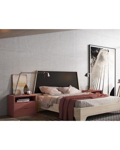 Dormitorio matrimonio moderno beladur 270-BH08