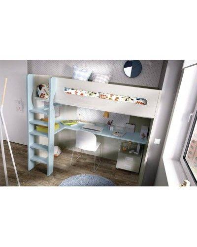 Litera dormitorio juvenil infantil moderno 363-303