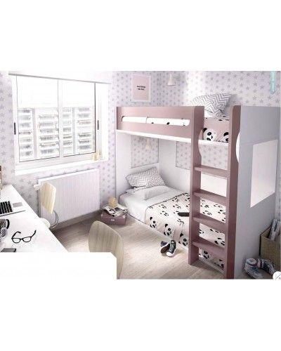 Litera dormitorio juvenil infantil moderno 363-307