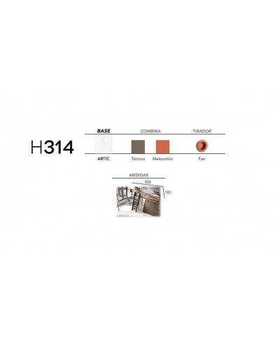 Litera dormitorio juvenil infantil moderno 363-314
