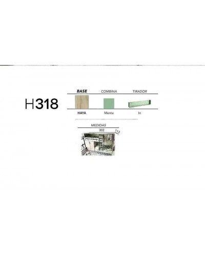 Litera dormitorio juvenil infantil moderno 363-318