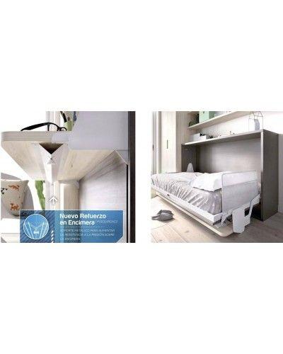 Cama abatible dormitorio juvenil infantil 363-405