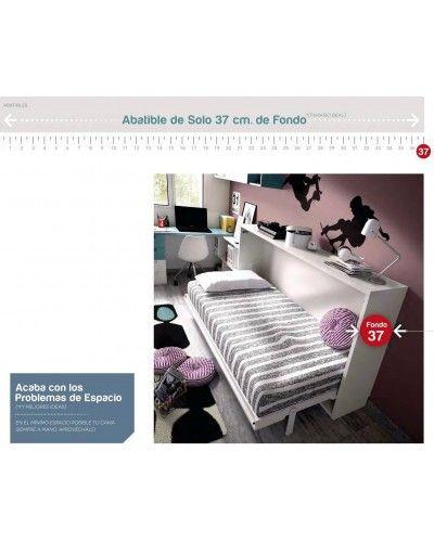 Cama abatible dormitorio juvenil infantil 363-406