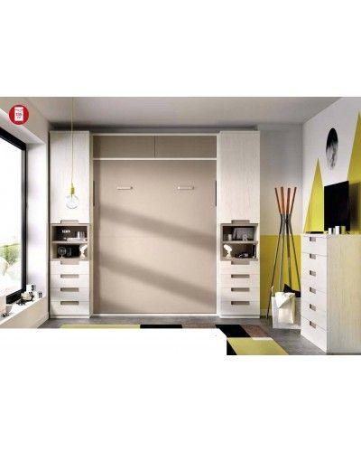 Cama abatible dormitorio juvenil infantil 363-408