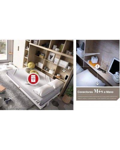 Cama abatible dormitorio juvenil infantil 363-412