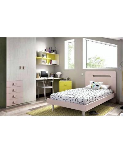 Dormitorio juvenil  infantil moderno 363-613