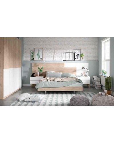 Dormitorio matrimonio moderno beladur 270-BH15