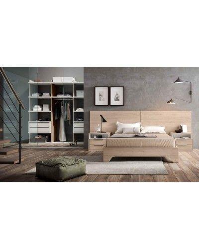 Dormitorio matrimonio moderno beladur 270-BH16