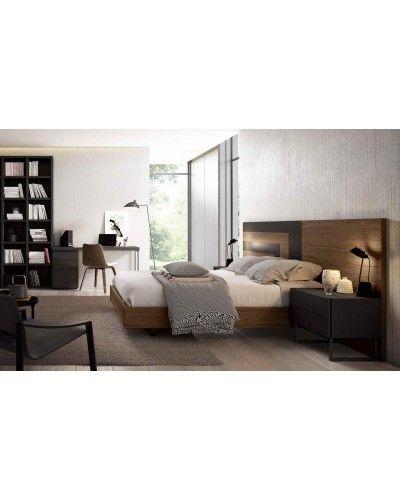 Dormitorio matrimonio moderno beladur 270-BH18