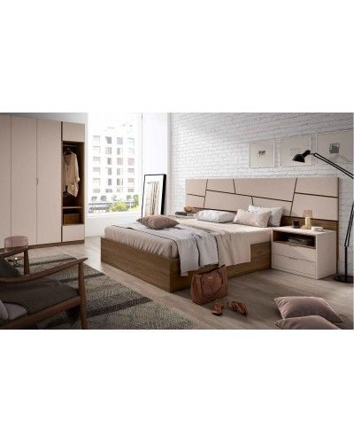 Dormitorio matrimonio moderno beladur 270-BH19