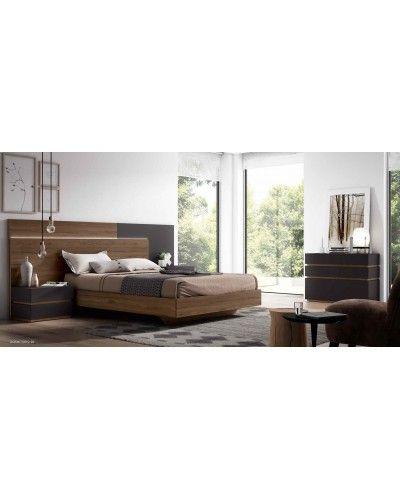 Dormitorio matrimonio moderno beladur 270-BH20