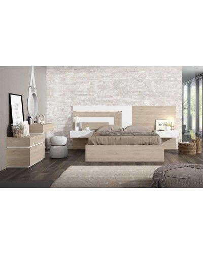 Dormitorio matrimonio moderno beladur 270-BH21